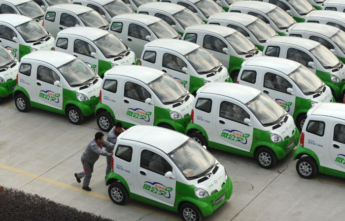 China to pay people to use EVs or not drive at all