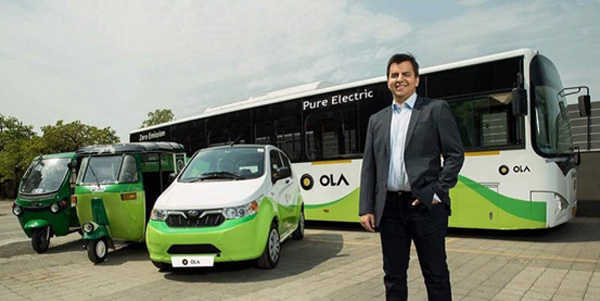 Ola to launch 10,000 EVs in 12 months