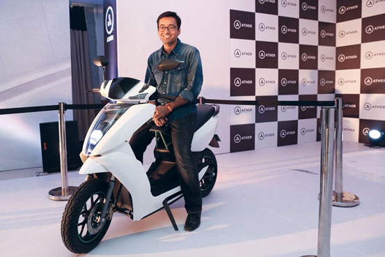 Indian startup eyes e-scooter market