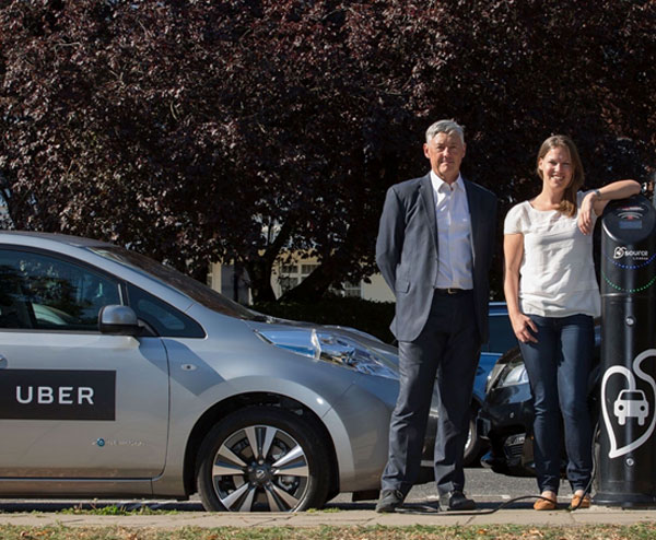 Uber paying extra to EV drivers