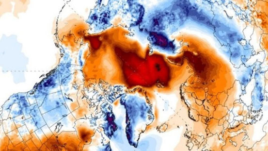 Climate Change: Arctic's 'winter heatwave', blizzards in Europe, extreme heatwave warning in India