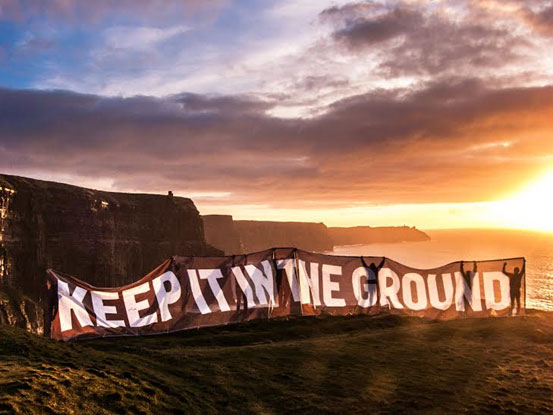 Ireland to fully divest from fossil fuels;