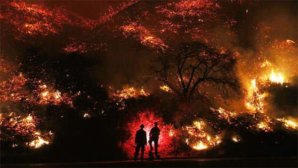Climate change: California wildfires 'new normal', a yearround event, 'burning since 2000'