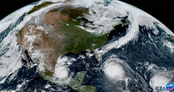 Recipe for Disaster? Hot Atlantic churns back-to-back hurricanes