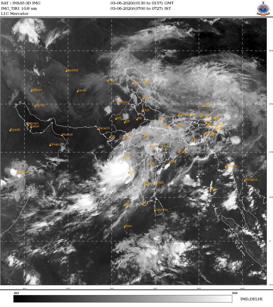 Cyclone Nisarga makes landfall in Maha; clear links to warming Arabian Sea