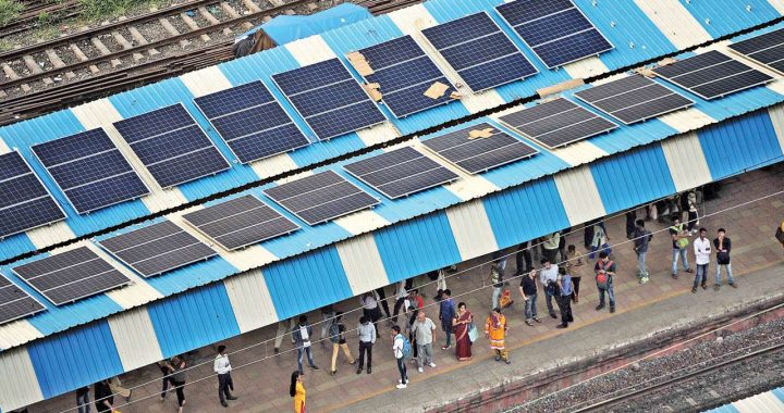 25% of Indian Railways could run on direct supply from solar panels: Study