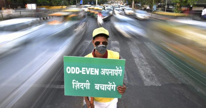 Delhi to bring back odd-even traffic plan, study says emergency measures failing to curb pollution
