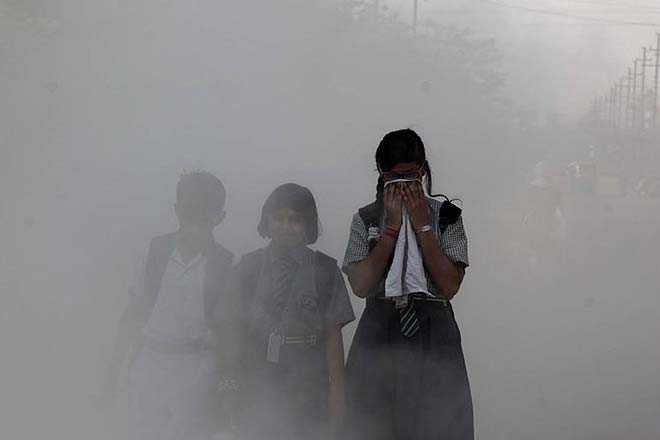 Indians losing 5.2 years of life expectancy by inhaling polluted air, UP worst hit: Study