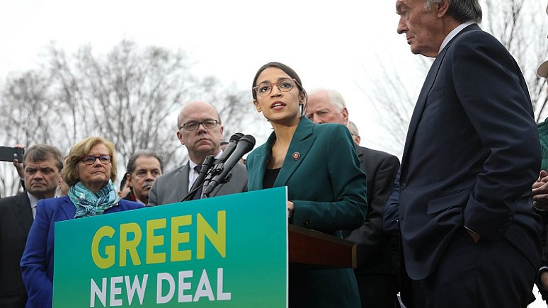 Green New Deal spreads, so does the youth strike