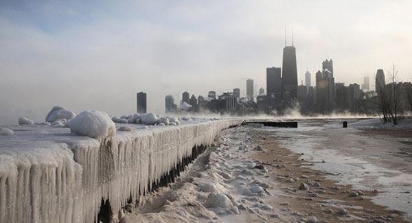 'Polar Vortex' freezes US, Canada