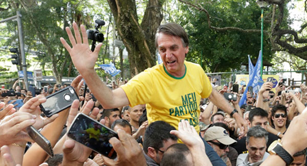 Brazilian Prez hopeful  on a mission to bulldoze the Amazon