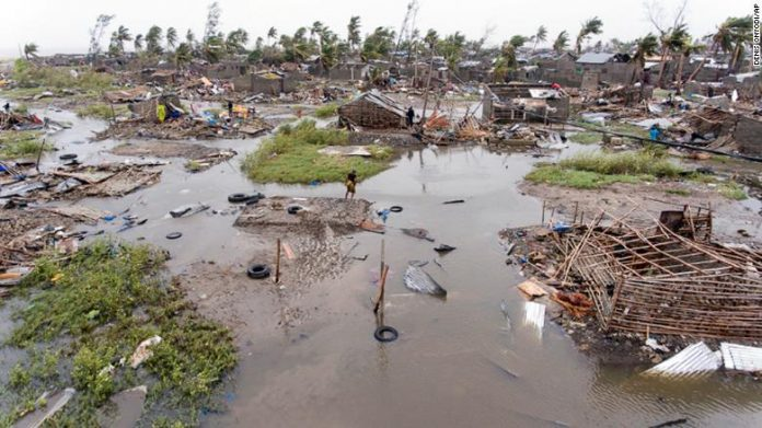 90% of Mozambique port city destroyed by tropical cyclone Idai