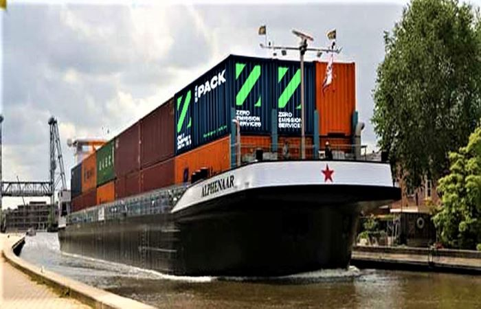 Netherlands, Belgium launch self-piloting electric barges