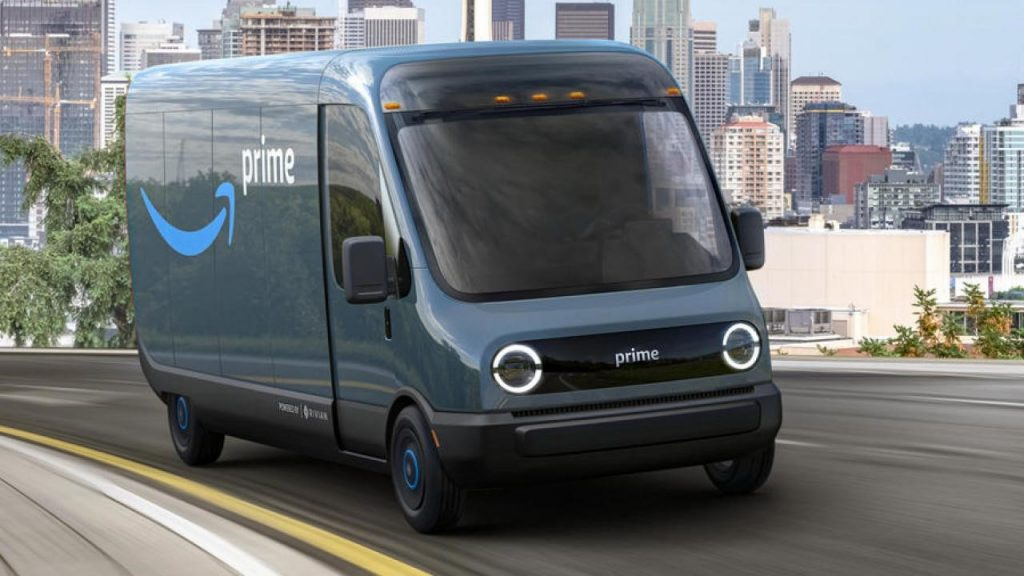 Amazon orders 100,000 electric delivery vans