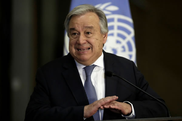 UN Secretary General calls on more ambitious climate action