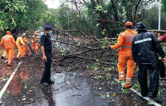 Cyclone Nisarga passes through India's west coast; Assam hit by torrential rain, flooding