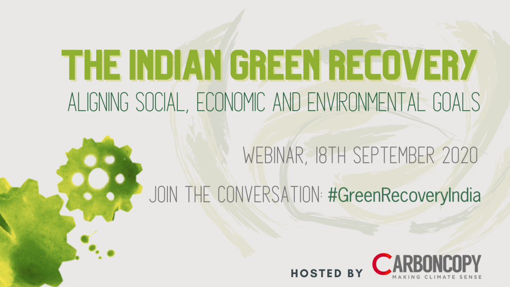 The Indian Green Recovery – Webinar Series