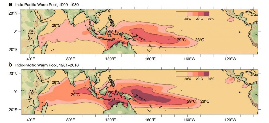 Expanding Indo-Pacific warm pool changing global rainfall patterns: Study