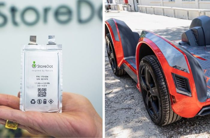 Israeli firm launches superfast, 5-minute recharge technology