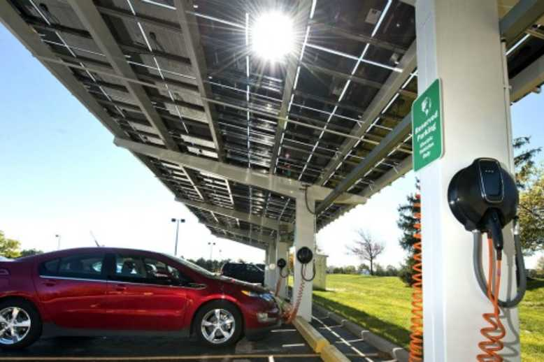 First solar-powered EV chargers for India unveiled in Gurgaon and Pune