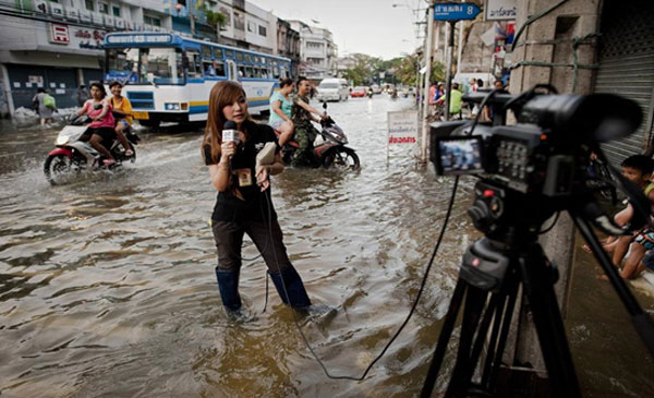 The inter-sessional starts amidst heavy rains and floods in Bangkok