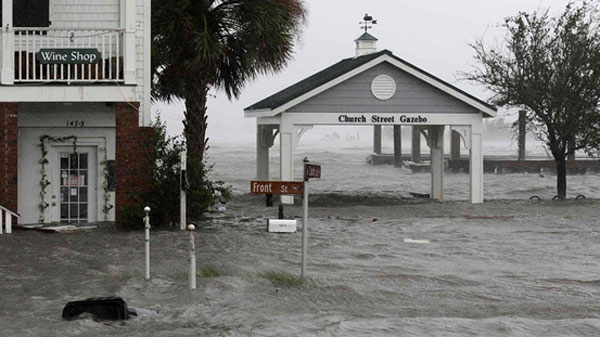 Storm Florence death toll climbs to 33 amidst toxic waste leak