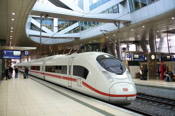 20% of Germany's domestic flight passengers to be ferried by trains