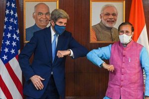 Kerry in India: US climate envoy talks climate finance with Javadekar