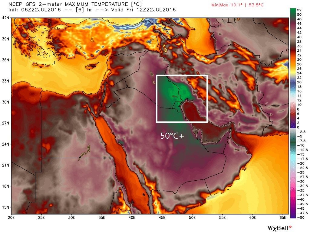 Kuwait, Saudi Arabia sizzle at record temperatures, India not far behind
